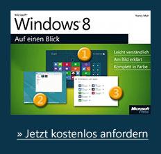 Windows 8 Auf einen Blick als gratis eBook zum Start von Windows 8. Nur bis 01.11.!